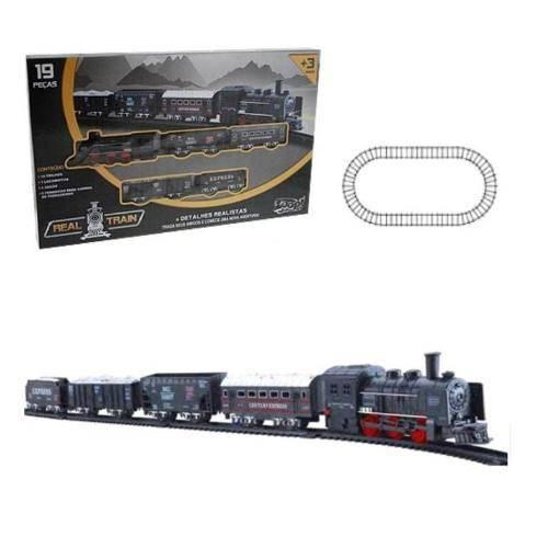 Locomotiva Real Train - ZOOP ZP00170