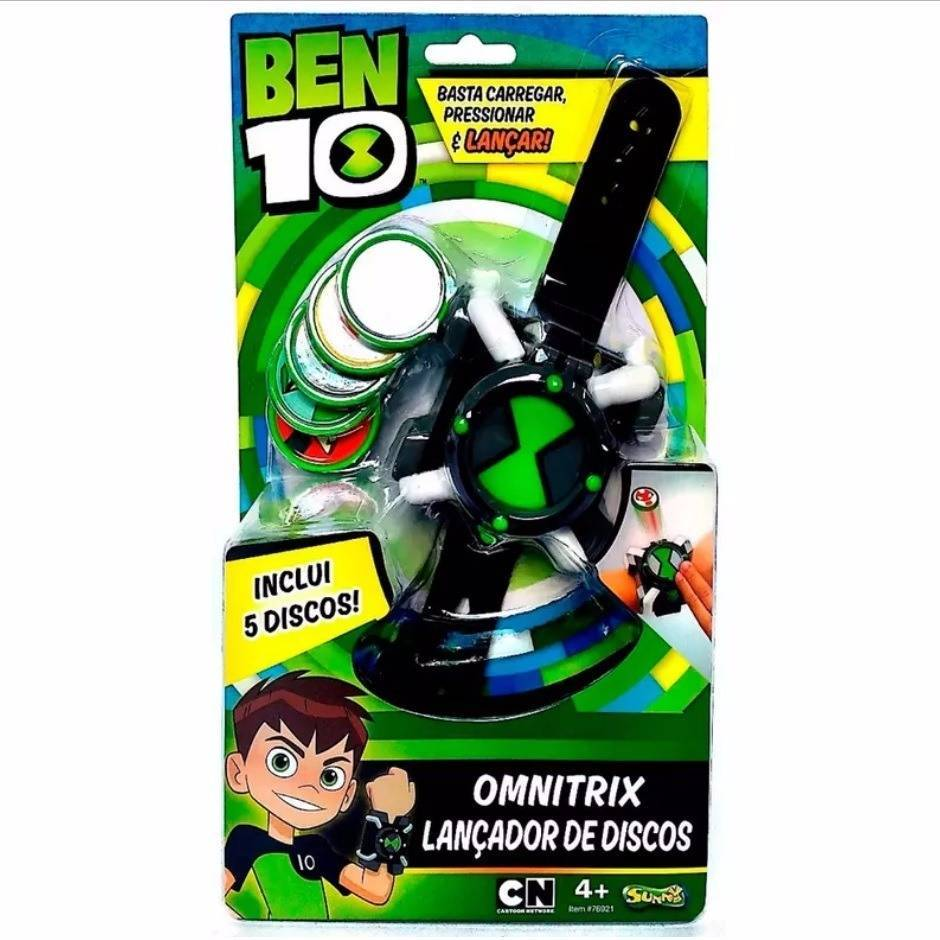 Omnitrix Lançador de Discos Ben 10 - Sunny 1759