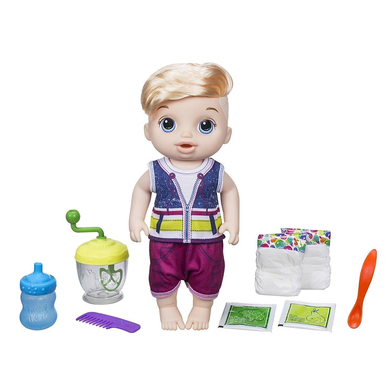 Loiro Papinha Divertida Baby Alive - Hasbro E0635