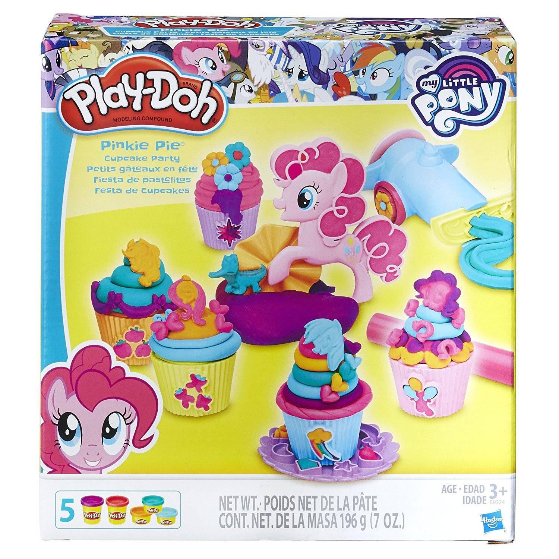 Pinkie Pie Festa Cupcake My Little Pony Play Doh - Hasbro B9324