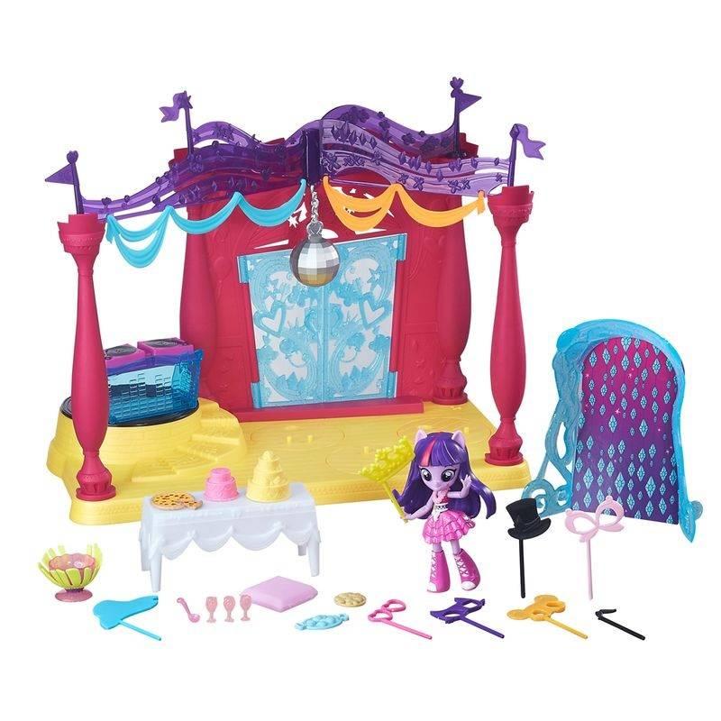 Festa em Canterlot High My Little Pony - Hasbro B6475