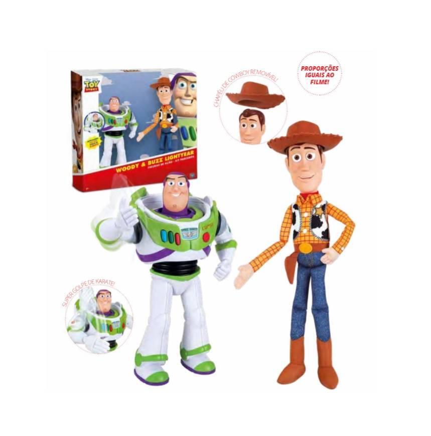 Kit Buzz Lightyear E Woody Toy Story - Toyng 35705