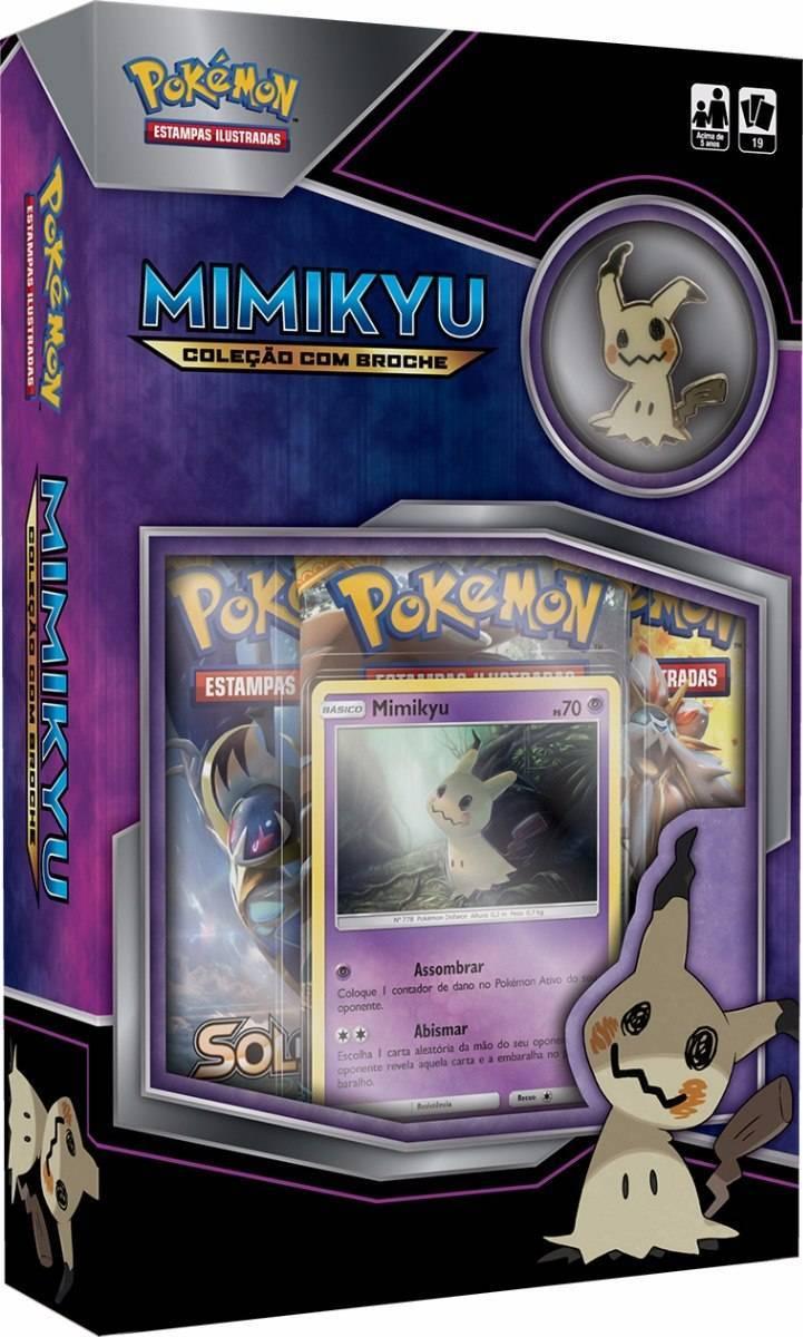 Mimikyu Mini Box Pokémon - Copag 97485
