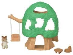 Casa na Árvore do Bebê Sylvanian Families - Epoch Magia 5318 | Noy Brinquedos