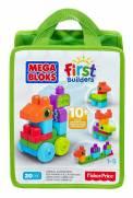 Sacola 20 Peças Criar Animais Mega Bloks - Mattel CNH10