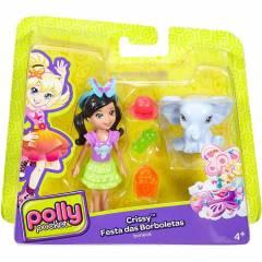 Crissy Festa das Borboletas Polly Pocket - Mattel DNB63 | Noy Brinquedos