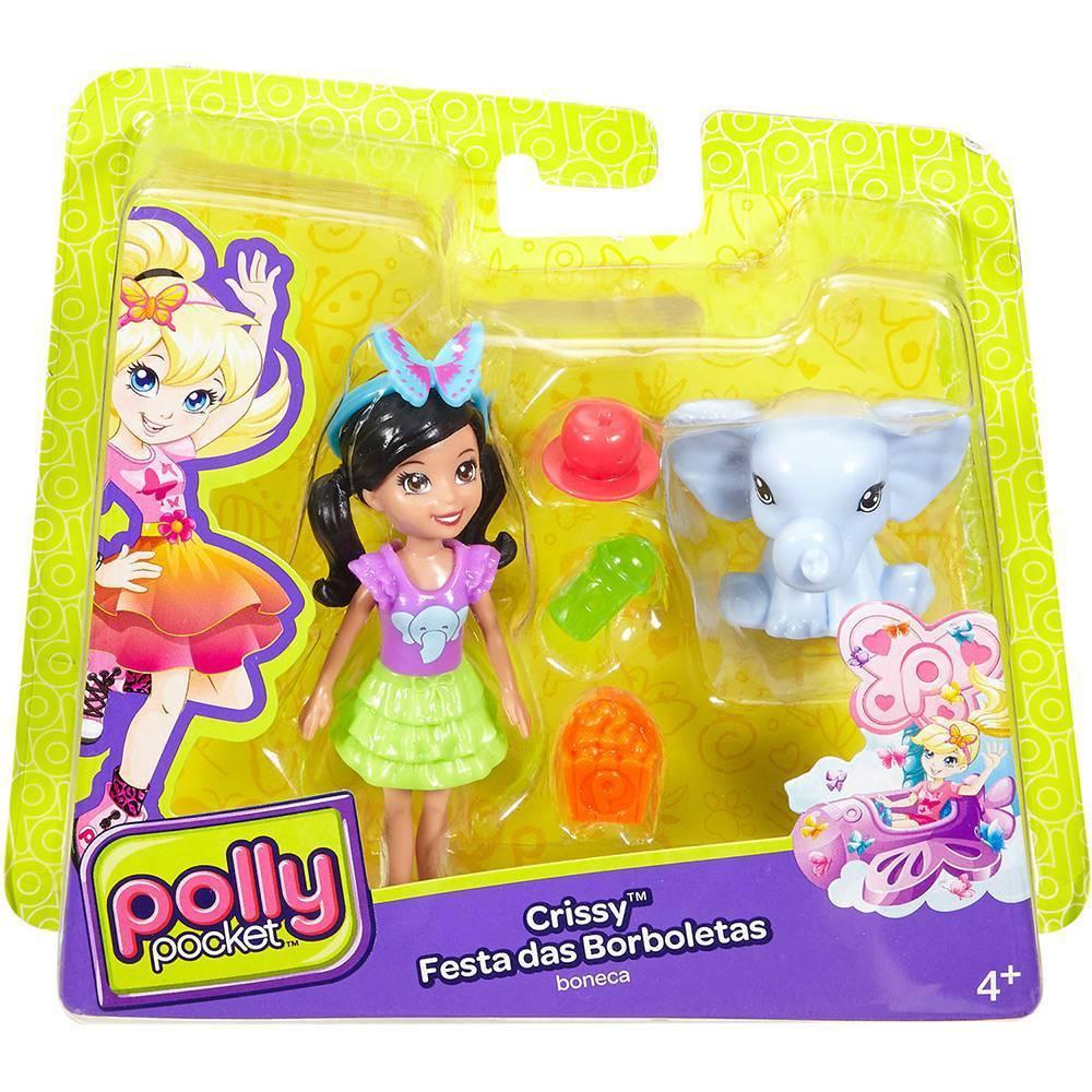 Crissy Festa das Borboletas Polly Pocket - Mattel DNB63