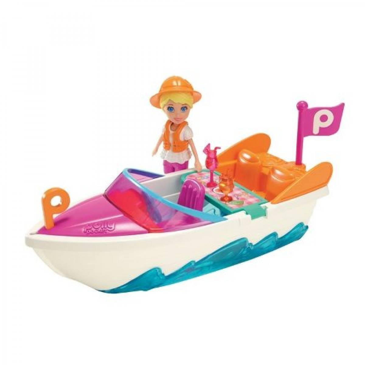 Super Lancha da Polly Pocket - Mattel CFM27