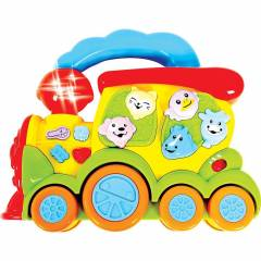 Trem Fazendinha com Som - Zoop Toys ZP00005   Noy Brinquedos