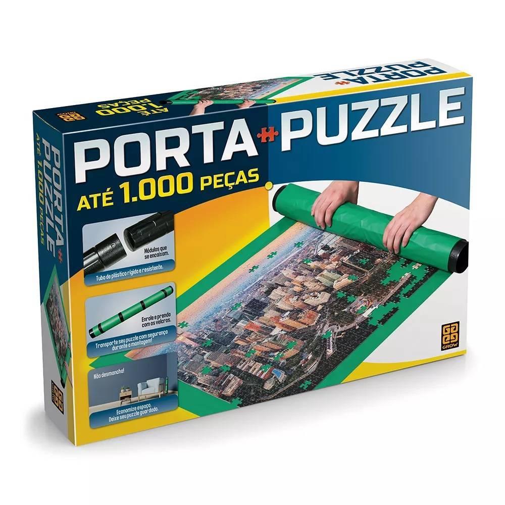 Porta Puzzle até 1000 Peças Quebra Cabeça - Grow 3466