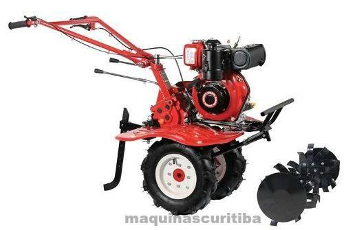 Motocultivador tratorito Kawashima MCD 580 motor diesel 4,2hp