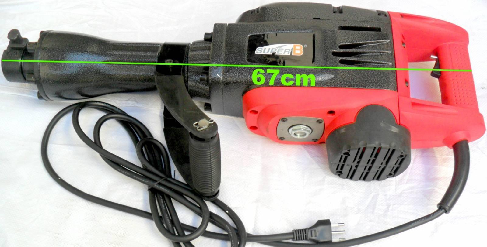 Martelete rompedor demolidor elétrico 2450W - 220V