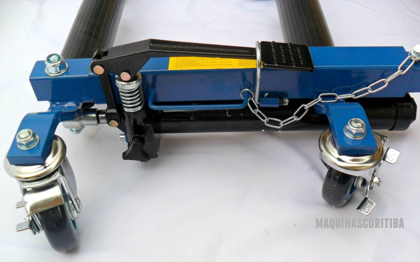 Patins Hidráulicos para movimentar remover rebocar veículos