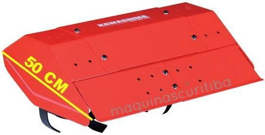 Enxada rotativa AW ER60 para microtrator Kawashima MWG722 e MWD522