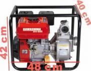 Motobomba bomba dágua a gasolina 7hp alta pressão kawashima gw 200h