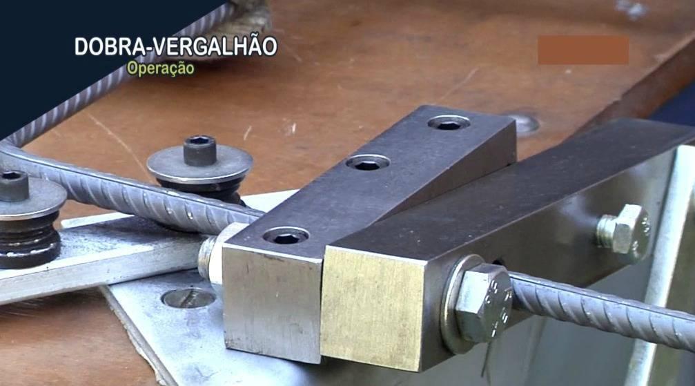 Dobra e corta vergalhão de até 12,7mm
