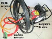 Lavadora de alta pressão com 3 pistões S40F com motor elétrico monofásico 3cv