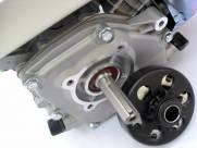 Motor estacionario 6,5hp partida elétrica com embreagem com pinhão
