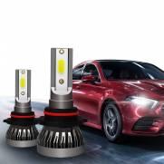 KIT LAMPADA H7 LED 6000K Farol Fiat 500 Bravo Doblo Idea PAR
