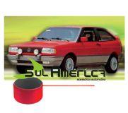 FRISO PARACHOQUE GOL GT GTS 87 88 89 90 91 92 93 94 VERMELHO DIANTEIRO + TRASEIRO 5MTS