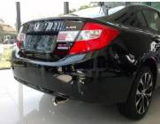 PONTEIRA ESCAPAMENTO NEW CIVIC 2012 A 2016 AÇO INOX ORIGINAL
