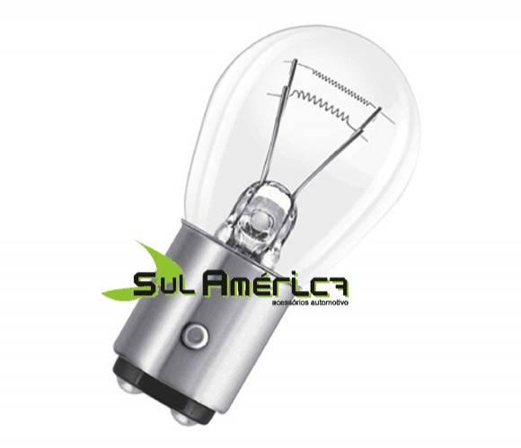LAMPADA FREIO MEIA LUZ P21 12V 5W 2POLOS ORIGINAL OSRAM 1PÇ