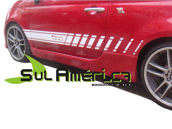 SPOILER LATERAL FIAT 500 2009 2010 2011 2012 2013 2014 2015
