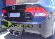 PARACHOQUE TRASEIRO HONDA NEW CIVIC 06/11 SPORT