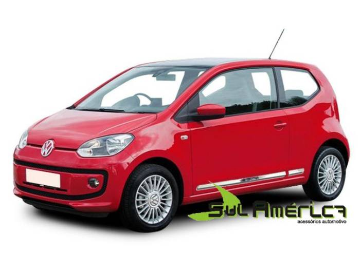 FRISO LATERAL VW UP 2014 2015 2016 CROMADO (4PÇ?S)