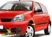 FRISO LATERAL RENAULT CLIO PRETO 01 02 03 04 05 06 07 08 09 10 11 12 13 14 15