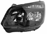 FAROL NOVA S10 2013 A 2016 MASCARA NEGRA LE FLY 1ªLINHA
