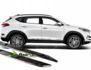 FRISO LATERAL NEW TUCSON 2017 2018 CROMADO BRILHANTE