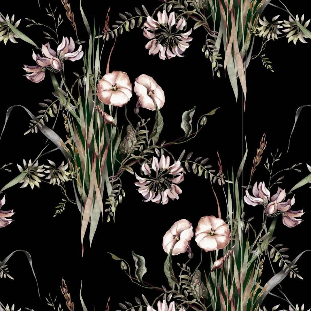 Papel de Parede Adesivo Floral /Rolo