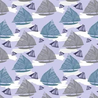 Papel de Parede Adesivo Boats Sailing /Rolo | Redecorei