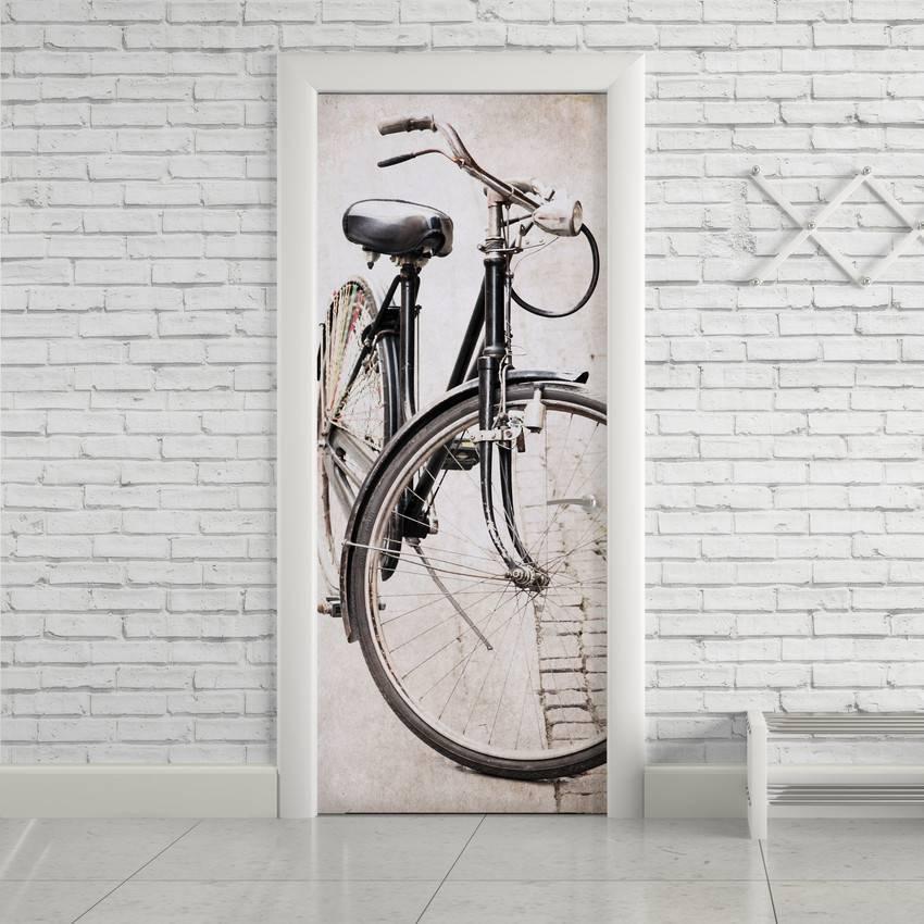 Adesivo de Porta Bicicleta