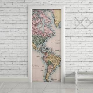 Adesivo de Porta Mapa | Redecorei