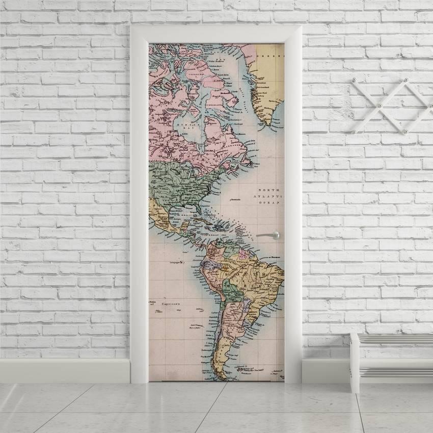Adesivo de Porta Mapa