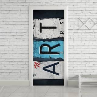 Adesivo de Porta Art | Redecorei
