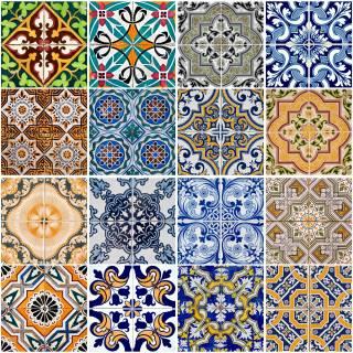 Adesivo para Azulejo - Retro Mescla | Redecorei