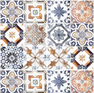 Adesivo para Azulejo - Retro Mescla Clara | Redecorei