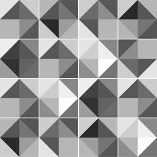 Adesivo para Azulejo - Cinza   Redecorei