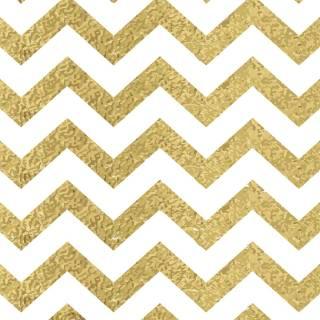 Papel de Parede Chevron Dourado/Rolo | Redecorei