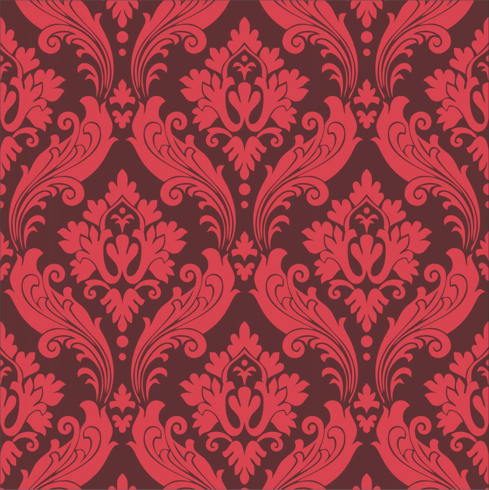 silver damask wallpaper vintage