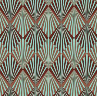 Papel de Parede Adesivo Geometrico Retro | Redecorei