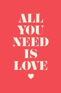 Quadro all you need is love | Redecorei