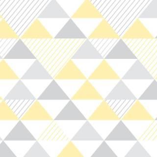Papel de Parede Adesivo Geométrico  /Rolo | Redecorei