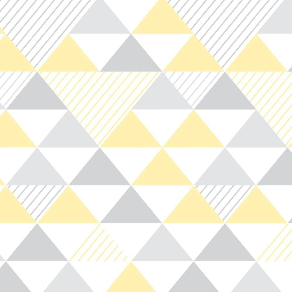 Papel de Parede Adesivo Geométrico  /Rolo