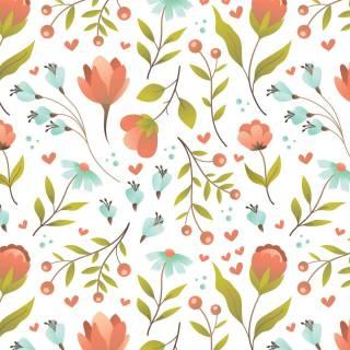 Papel de Parede Adesivo Floral Multicolor/Rolo | Redecorei