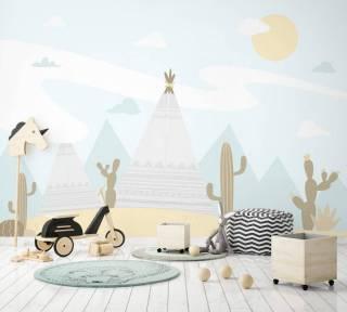 Painel Fotográfico Infantil Deserto/ m² | Redecorei