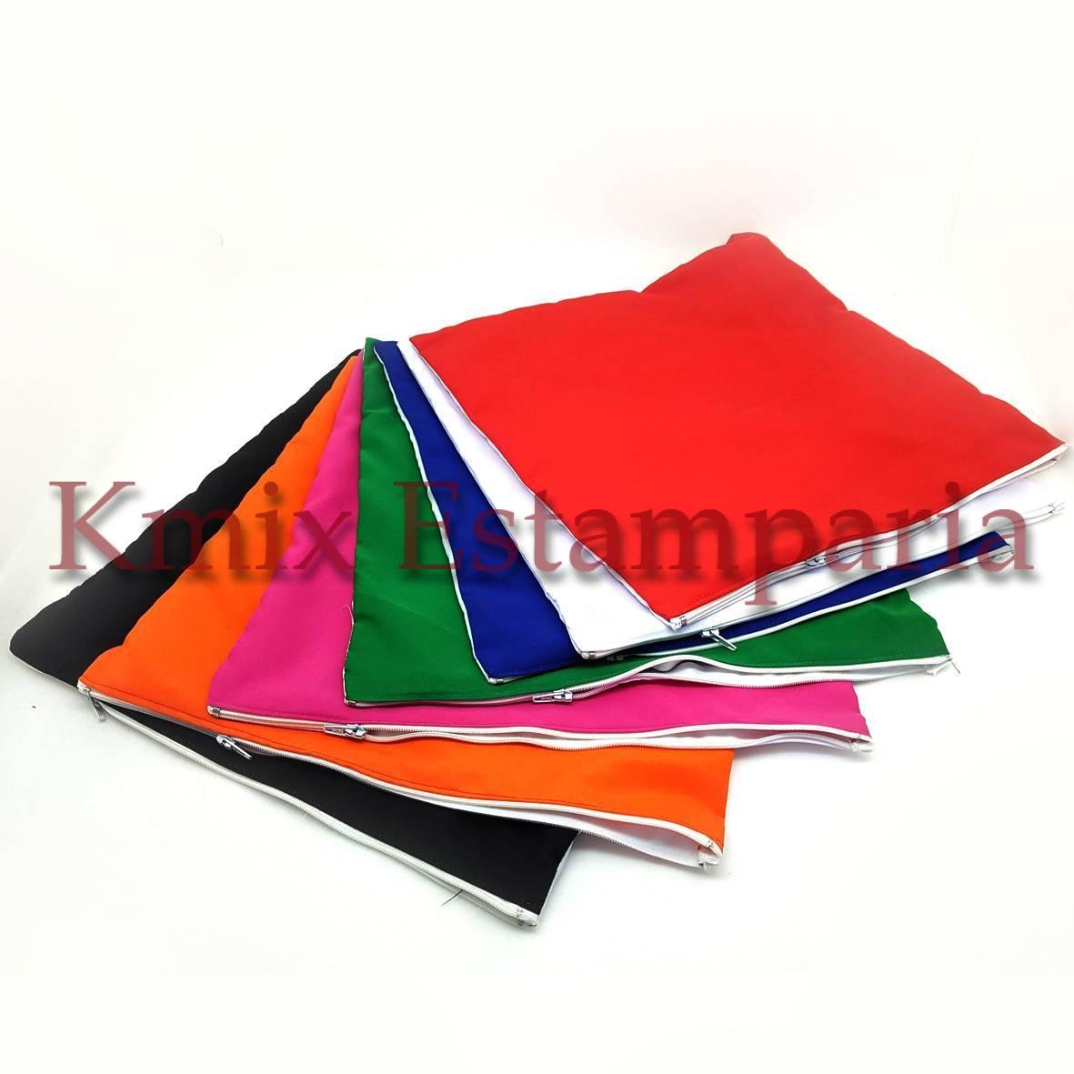 Capas 40x40 cm para sublimação com ziper (pedido minimo 10 peças)